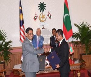 Malaysia, Maldives Tandatangani Empat MoU Perkukuh Kerjasama