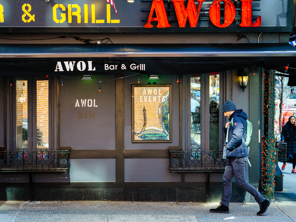 a photo of the awol bar and grill in new york city