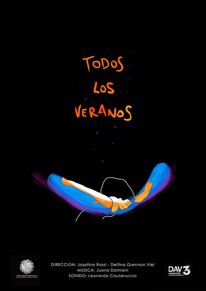 Animación, Todos los veranos de Josefina Rossi y Delfina Grennon Viel