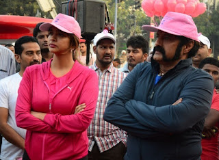Balakrishna and Manchu Lakshmi at Breast Cancer Awareness