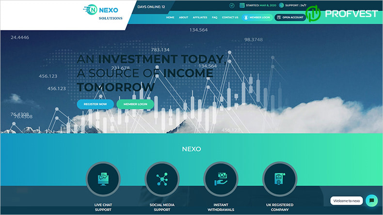Nexo Life обзор и отзывы HYIP-проекта