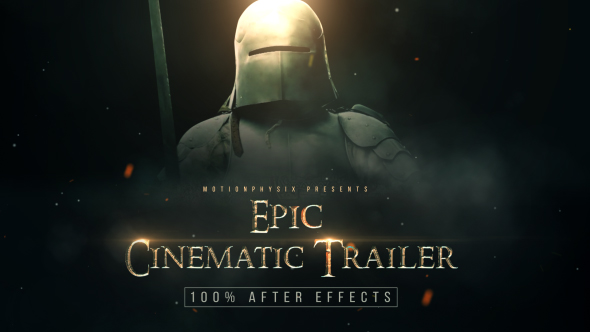Epic Cinematic Trailer Videohive – Free Download After Effects Templates