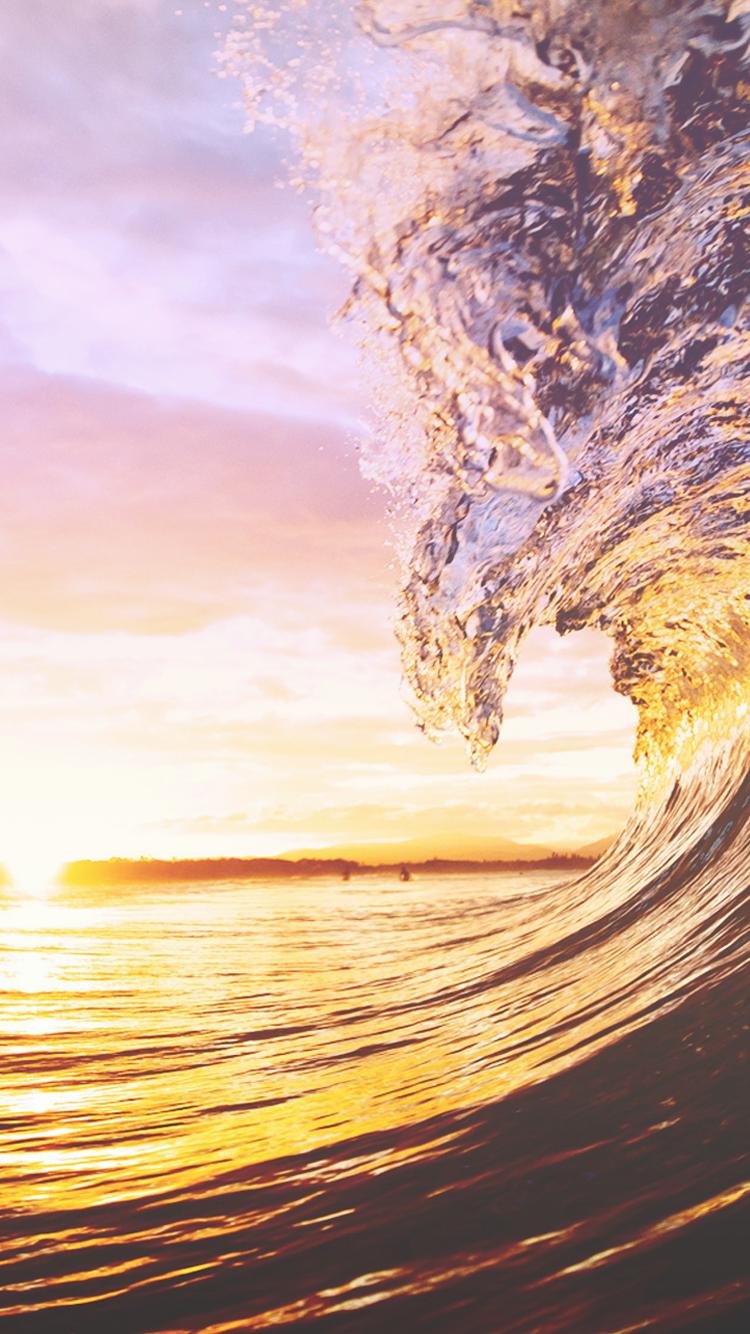pin sea waves wallpaper - photo #41