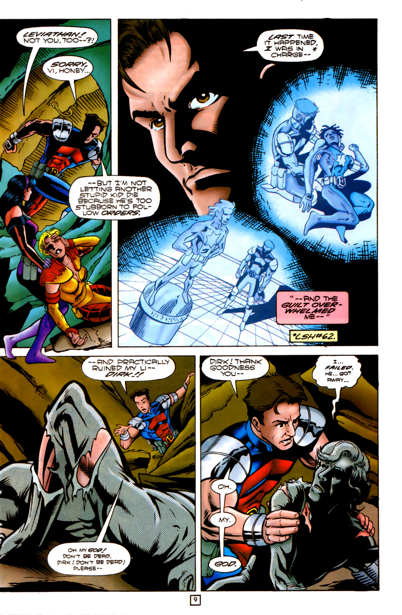 Legion of Super-Heroes (1989) 83 Page 8