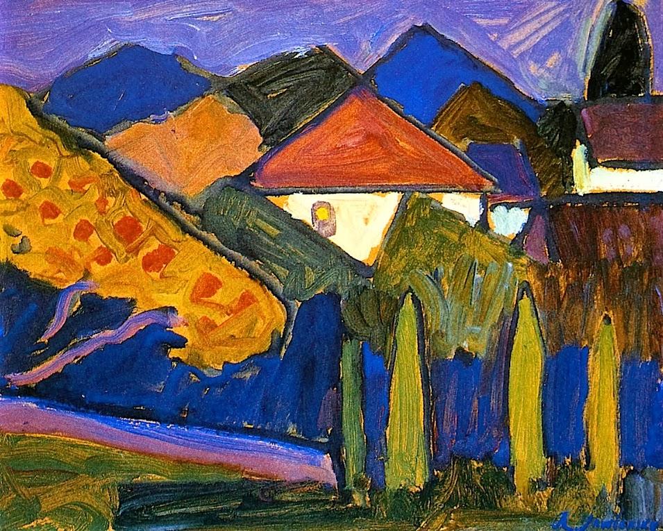 Arte German Expressionism Alexej Von Jawlensky