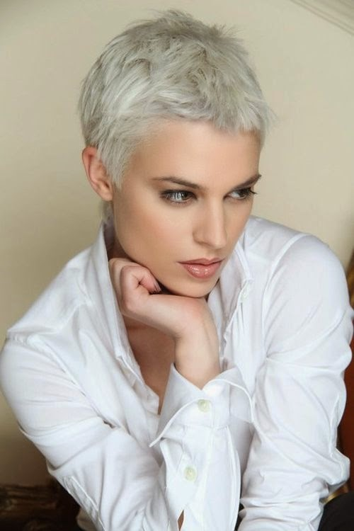 Platinum Short Haircuts! - The HairCut Web