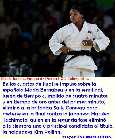 Yuri Alvear, segunda medalla de Colombia en Río 2016: plata en judo