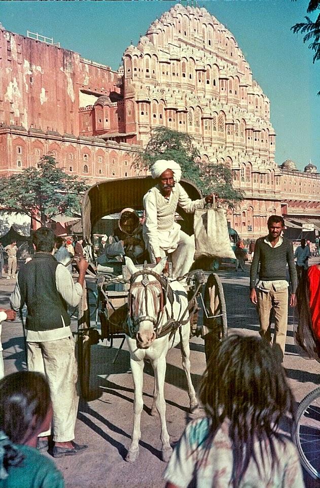 Hawa Mahal, Jaipur, Rajasthan - December 1969