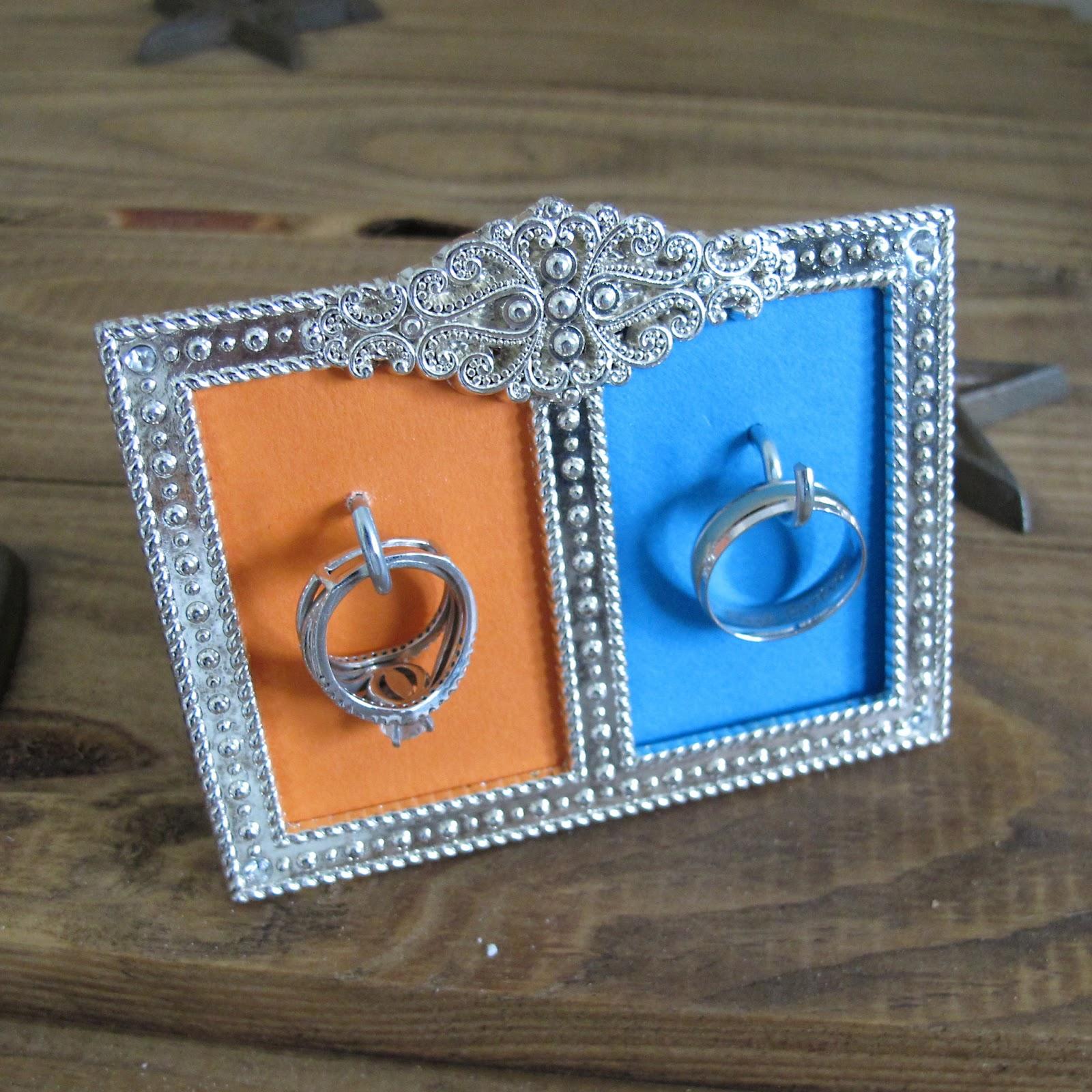 Rants of A Quirky Girl: DIY Wedding Ring Framed Holder