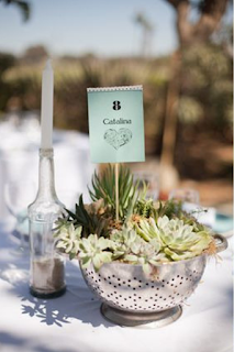 une décoration de mariage eco-friendly en détournant les objets du quotidien meubles anciens passoire en metal centre de table blog mariage www.unjourmonprinceviendra26.com