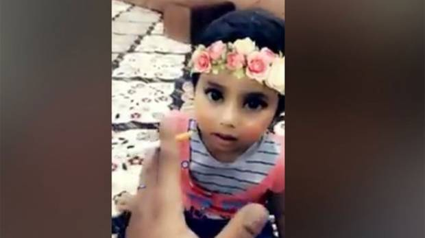 SAUDI ARRESTED FOR TEACHING HIS DAUGHTER HOW TO SMOKE