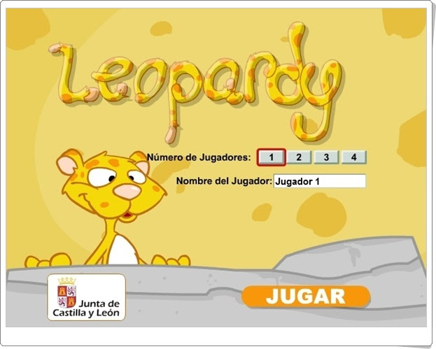 """""""Leopardy"""" (Juego sobre los Animales de Primaria)"""