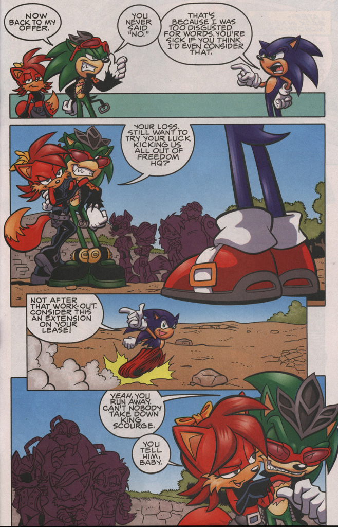 Read online Sonic The Hedgehog comic -  Issue #192 - 18