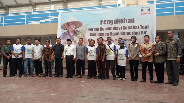 Forum Sahabat Tani : Iskandar Bupati Peduli Nasib Petani