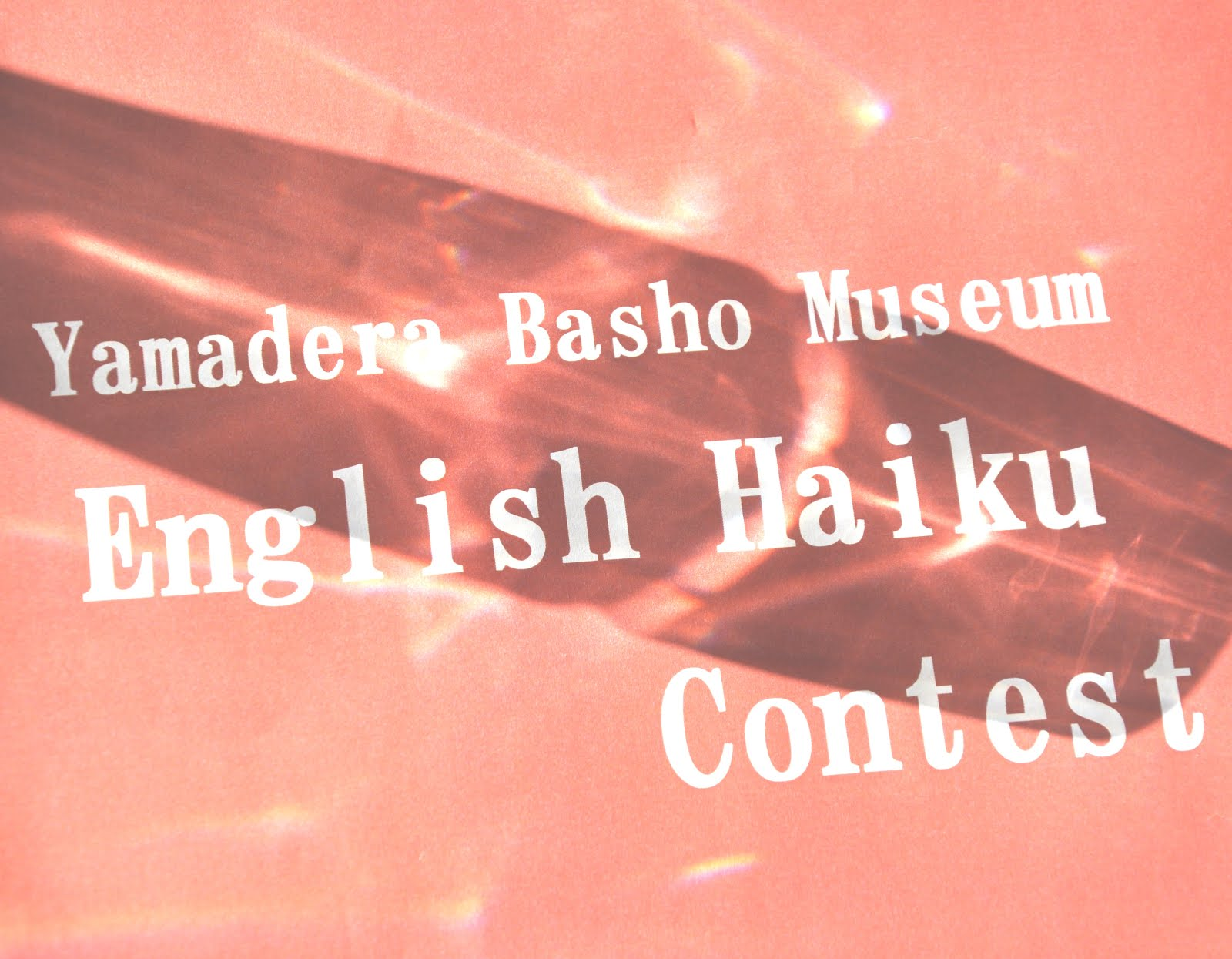 6th Yamadera Basho Museum Contest - JAPAN