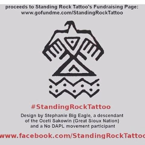 Paris Jackson Got a Standing Rock Tattoo