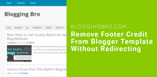Remove-footer-credit-blogger-template