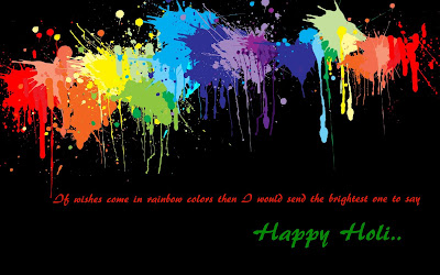 Happy Holi Greetings for Free