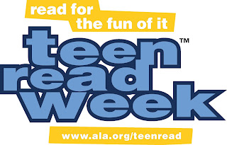read for the fun of it teen read week