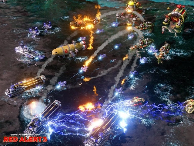Command and Conquer Red Alert 3 PC Free Download Screenshot 2