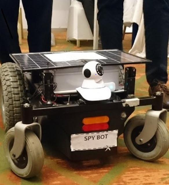 Meet 'Spybot' a surveillance device built by a team of Covenant university students