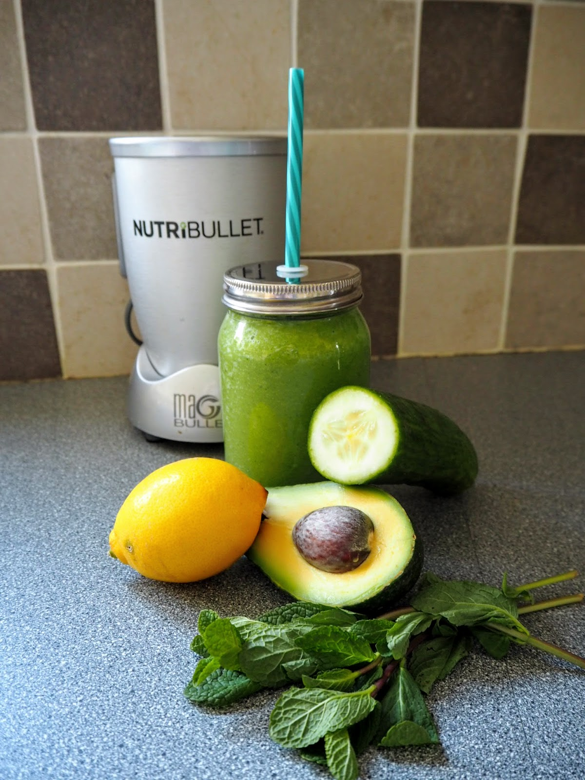Green Smoothie Breakfast No Fruit