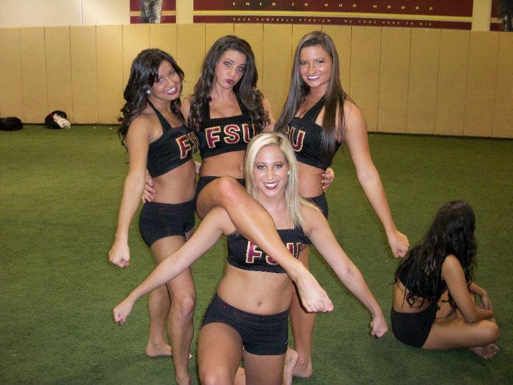 Florida State Cheerleaders Ready For A Big Season