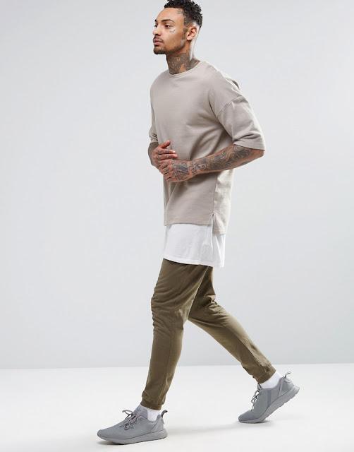 tenue kaki homme asos