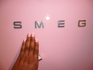 Miners Marshmallow Nail Polish & Pink Smeg Fridge!