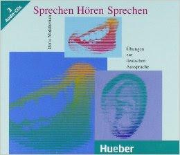 كتاب جميل جدا للتدريب على السمع والنطق في اللغة الالمانية Sprechen Hören Sprechen