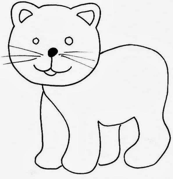 Maestra De Infantil Animales Domesticos Para Colorear