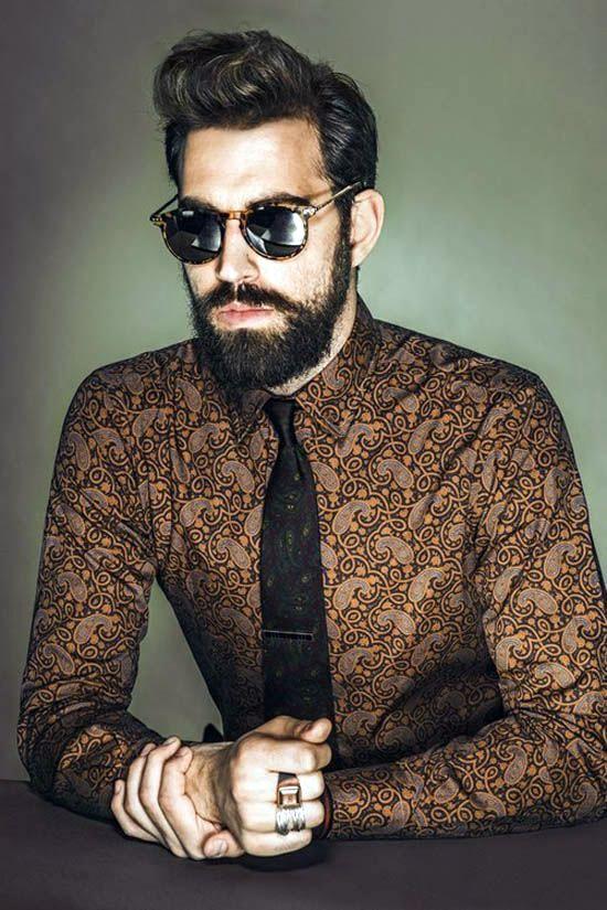 Model Batik Modern Surealisme pria