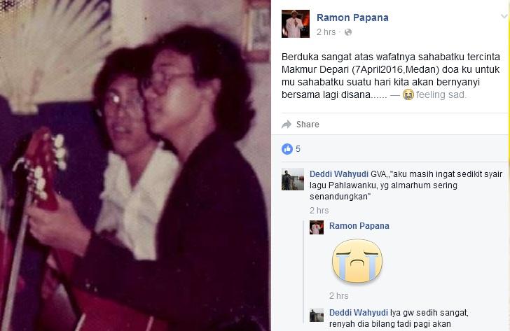 Foto Ayah Anda Sonya Depari ( Makmur Sembiring Depari ) Saat Masih Muda ?