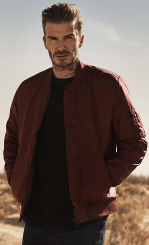 chaquetas David Beckham para H&M otoño invierno