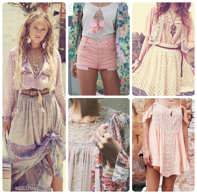 Affordable Springtime Bohemian Fashion {Pastel Bohemian, Springtime Boho Fashion and Accessories, Bohemian Easter}