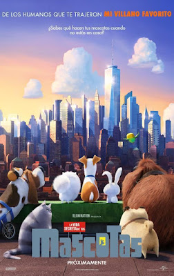 The Secret Life of Pets 2016 DVD R1 NTSC Latino