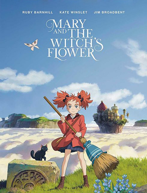 Mary and the Witch's Flower [2018] [DVDR] [NTSC] [Subtitulado]