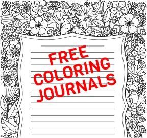 FREE coloring journals