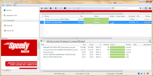 Abdu Software: Download uTorrent 3.4.2 Build 35141 Terbaru 2014