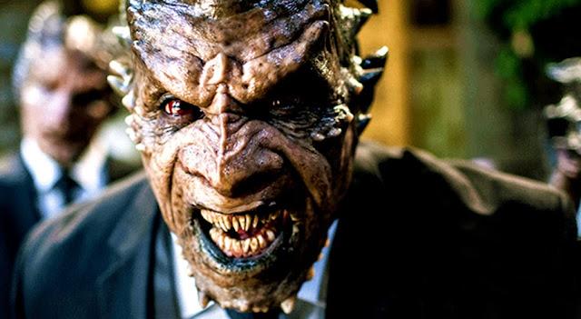 Monstru grotesc în filmul I, Frankenstein