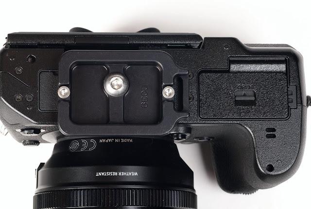 Hejnar Photo D039 QR Plate on Fujifilm X-H1