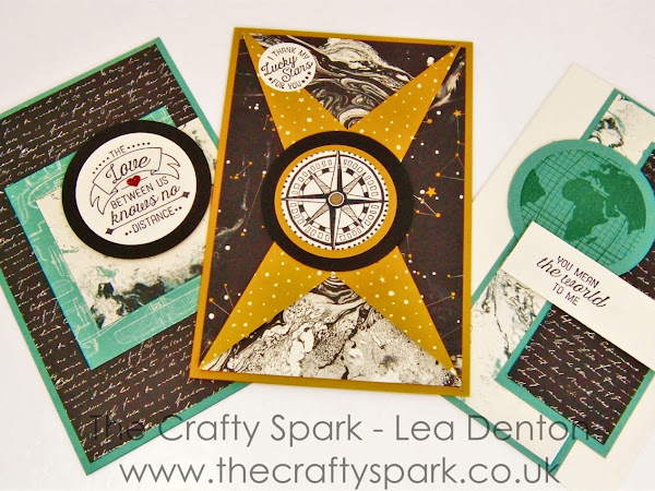 Super Simple Speedy Cards #7 - Masculine Cards with Going Places Suite Stampin' Up!