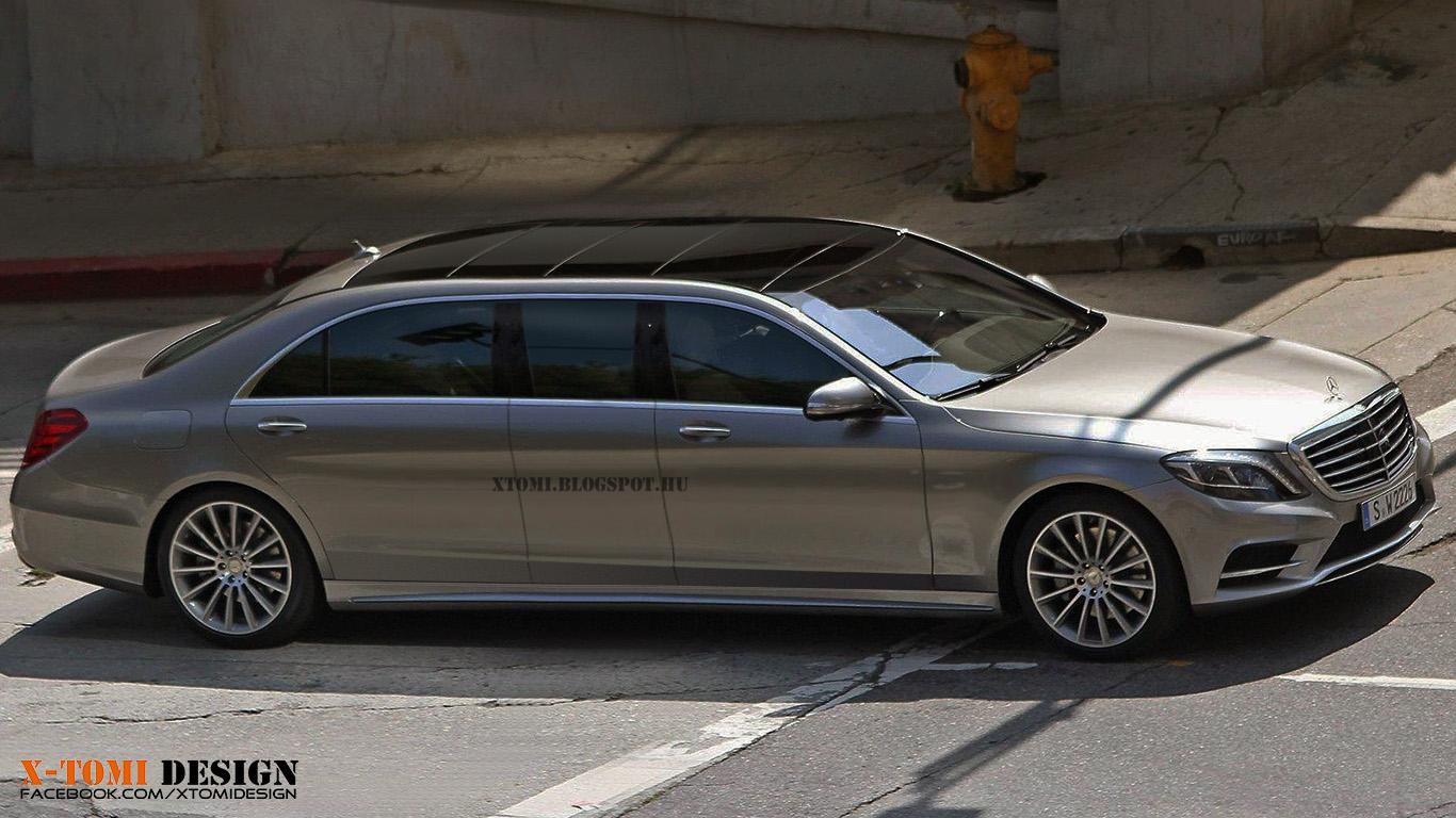 X tomi design mercedes benz s guard pullman for Mercedes benz s class price list