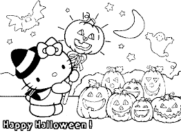 2017 Halloween Coloring Pages