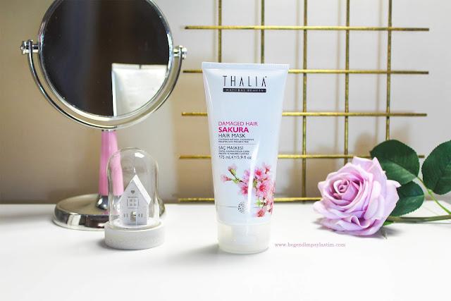 Thalia Natural Sakura Haır Mask -Saç bakım maskesi