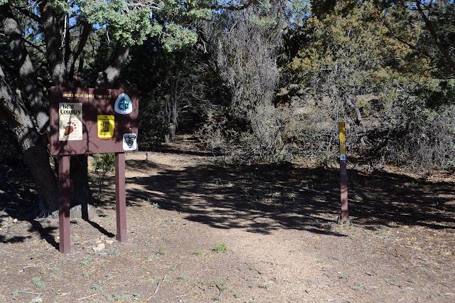sign at Jacks Trailhead