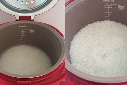 Bunda Wajib Tahu Inilah Tips Agar Nasi Tidak Mudah Basi dan Kering di Dalam Rice Cooker !!
