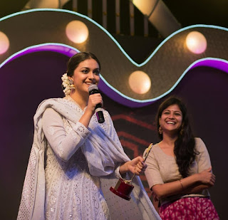 Keerthy Suresh Techofes Awards 2018 3