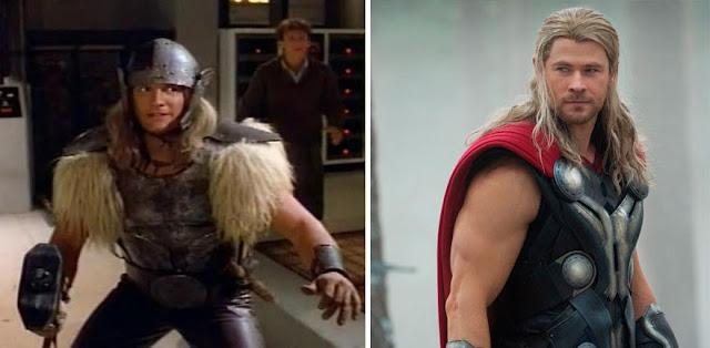 Superheroes Antes y después