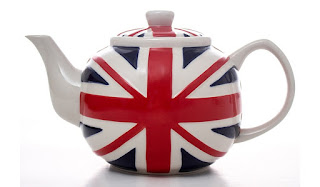 Things I Learnt In February : George at Asda Union Jack Teapot